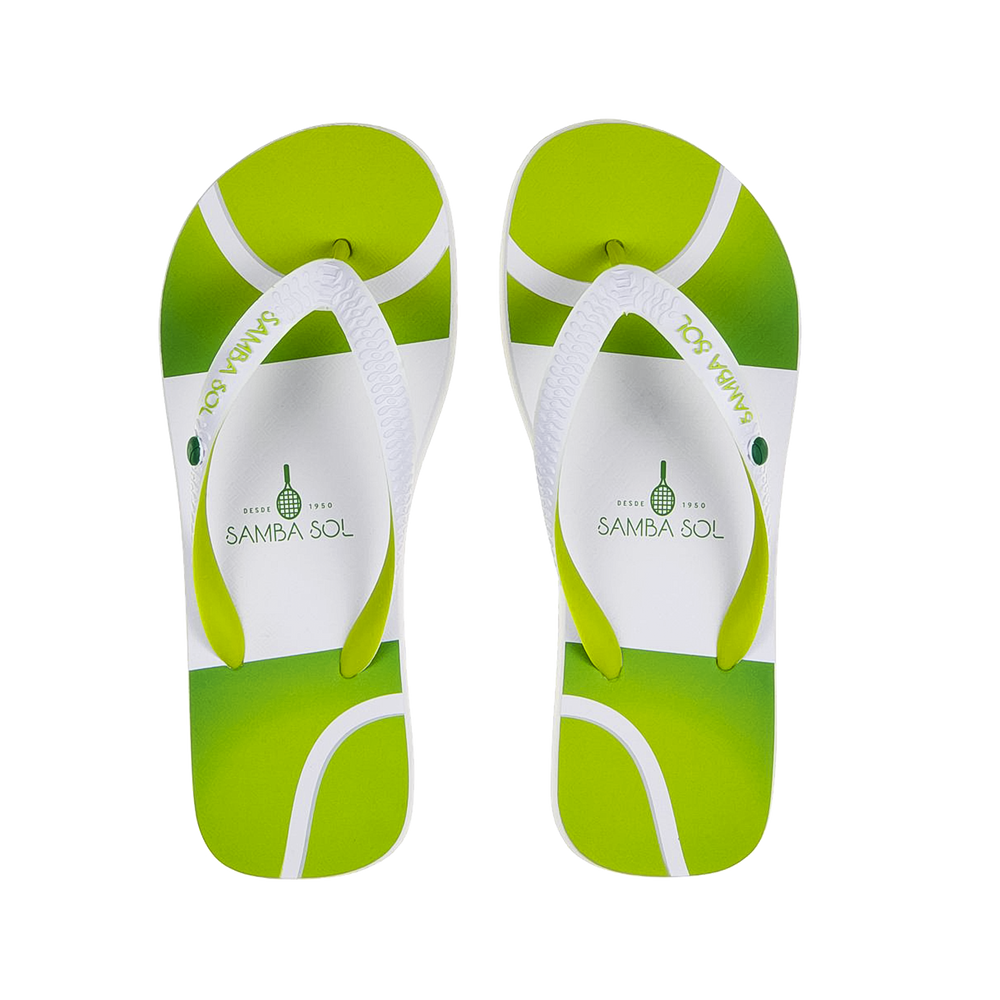 Samba Sol Men's Beach Collection Flip Flops - Tennis