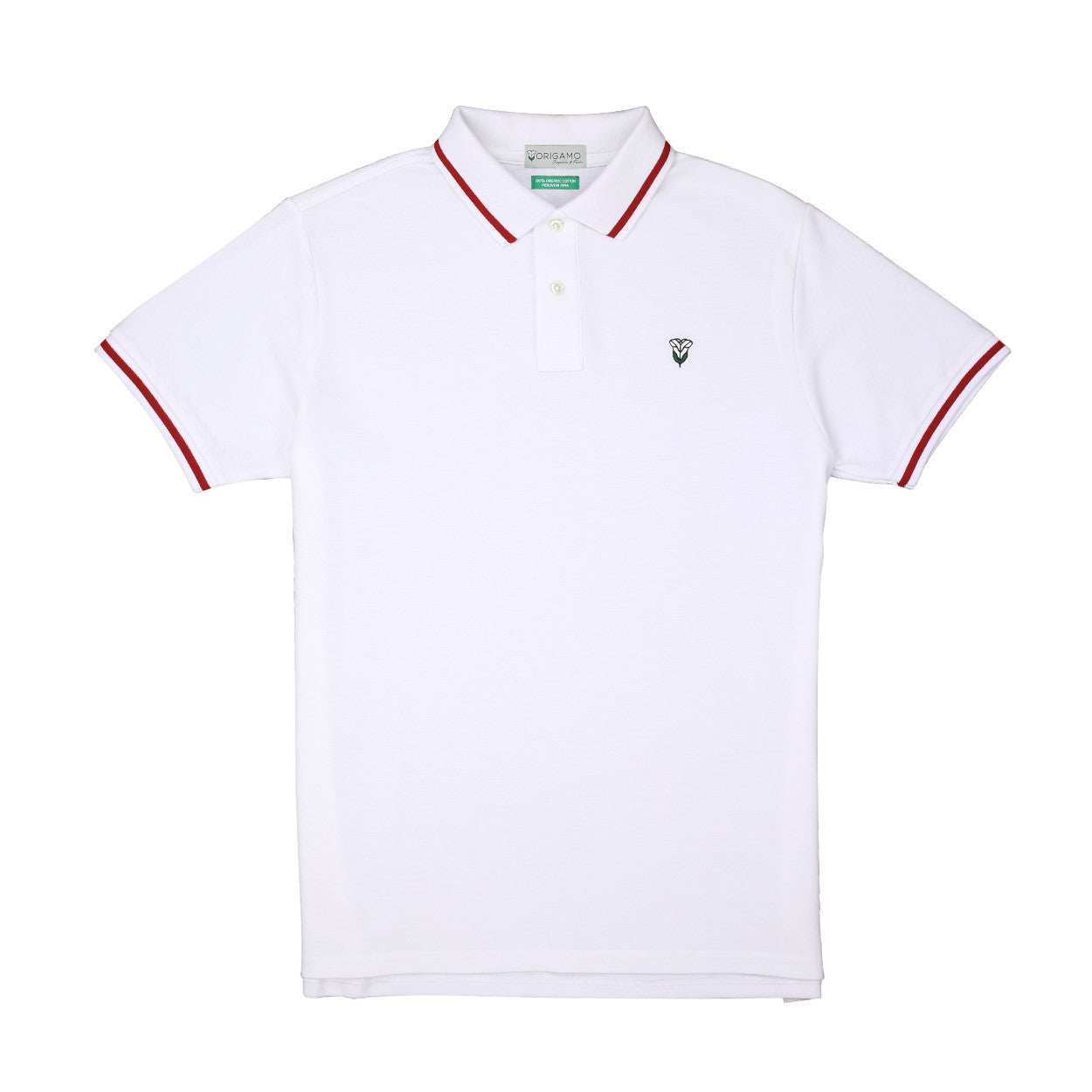Pacific Polo Evolve </br>Double Pique - 100% Organic Pima Cotton
