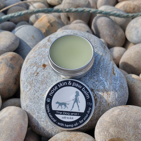 Handmade Nose, Skin and Paw Balm for Dogs