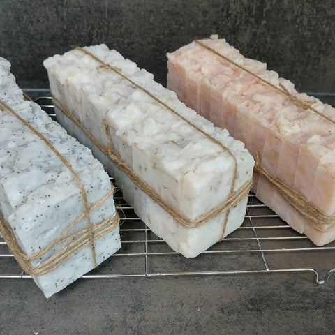 100% Coconut Oil Dog Soap - Whole Loaf  13 x 100g slices