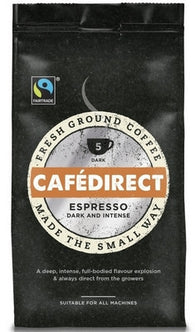Cafedirect Espresso Ground Coffee - 227 g
