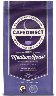 Cafedirect Medium Roast Ground Coffee - 227 g