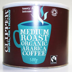 Clipper Instant Medium Roast Organic Arabica Coffee - 500 g