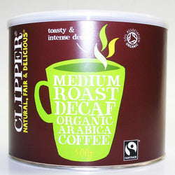 Clipper Instant Medium Roast Decaf Organic Arabica Coffee - 500 g