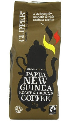 Clipper Papua New Guinea Ground Coffee - 227 g