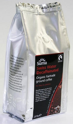 Suma Swiss Water Decaffeinated Ground Coffee - 227 g