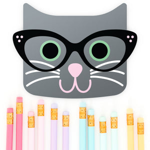 Freebie Friday - Cat with Glasses svg files