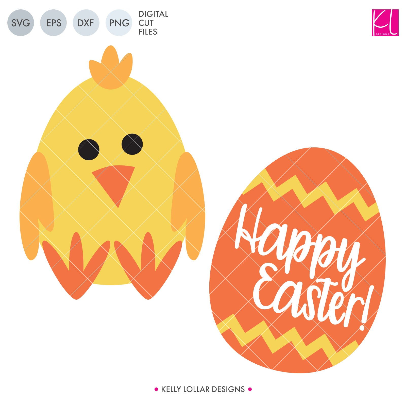 Freebie Friday svg - Spring Chicken Activity svg - cut cute chickens or Easter eggs for the little ones to decorate - Free for Commercial Use