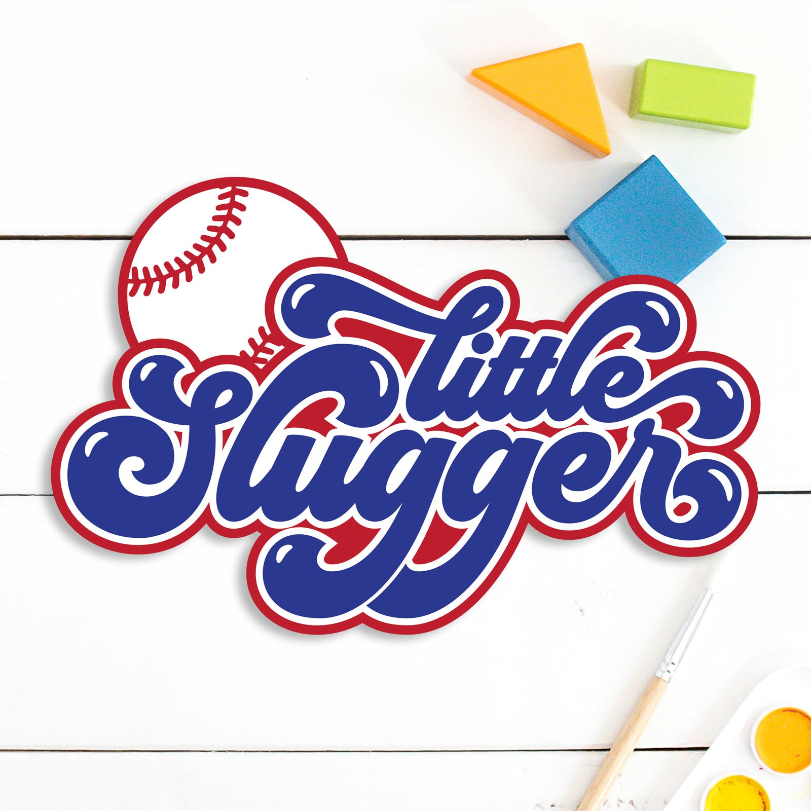 Little Slugger Baseball and Softball Cut Files | SVG DXF EPS PNG