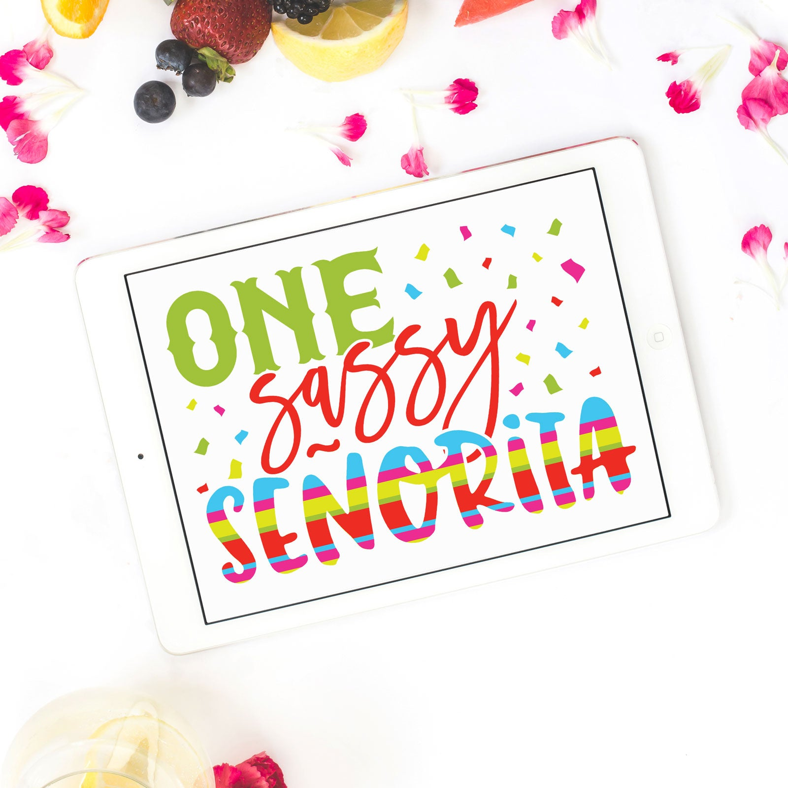 Freebie Friday| One Sassy Señorita Cinco de Mayo Cut Files | SVG DXF EPS PNG