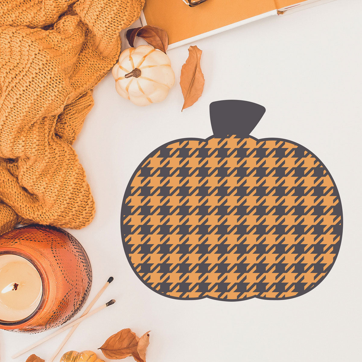 Freebie Friday | Plaid Pumpkin svg for fall and Halloween shirts and decor | SVG DXF PNG Cut Files
