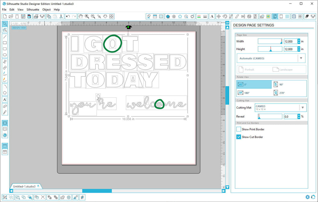 Opening a DXF File in Silhouette Studio