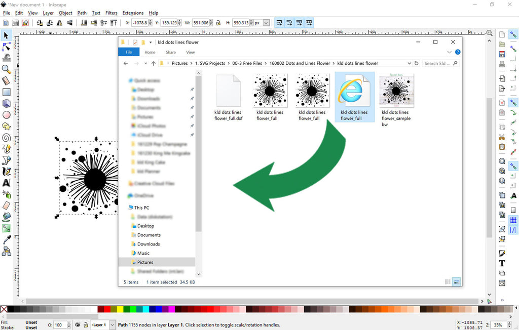 Inkscape Tutorial: Converting SVG Files to DXF | Kelly