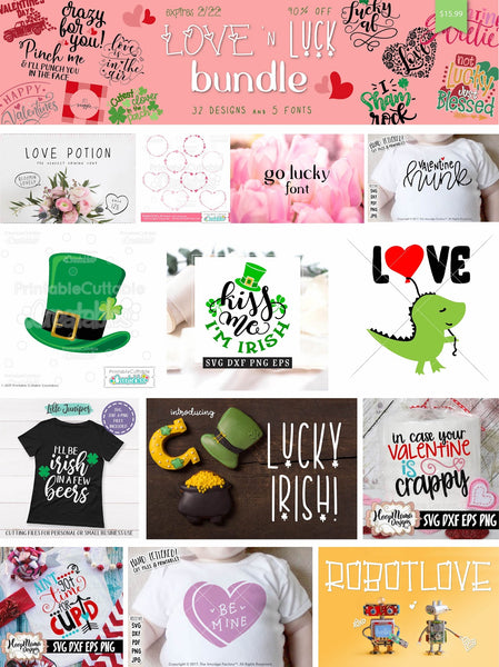 So Fontsy Love and Luck Bundle