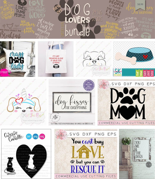So Fontsy Dog Lovers Bundle
