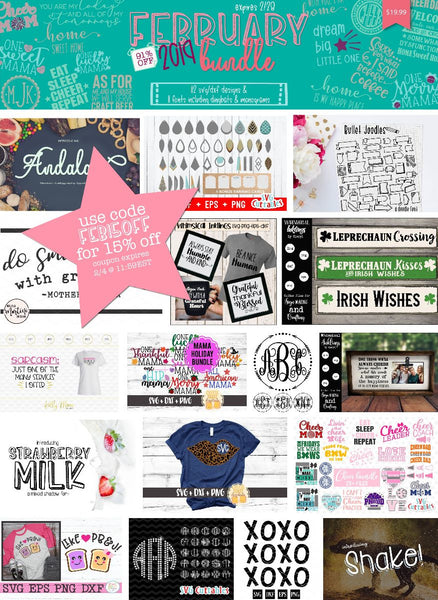 So Fontsy February 2019 Bundle