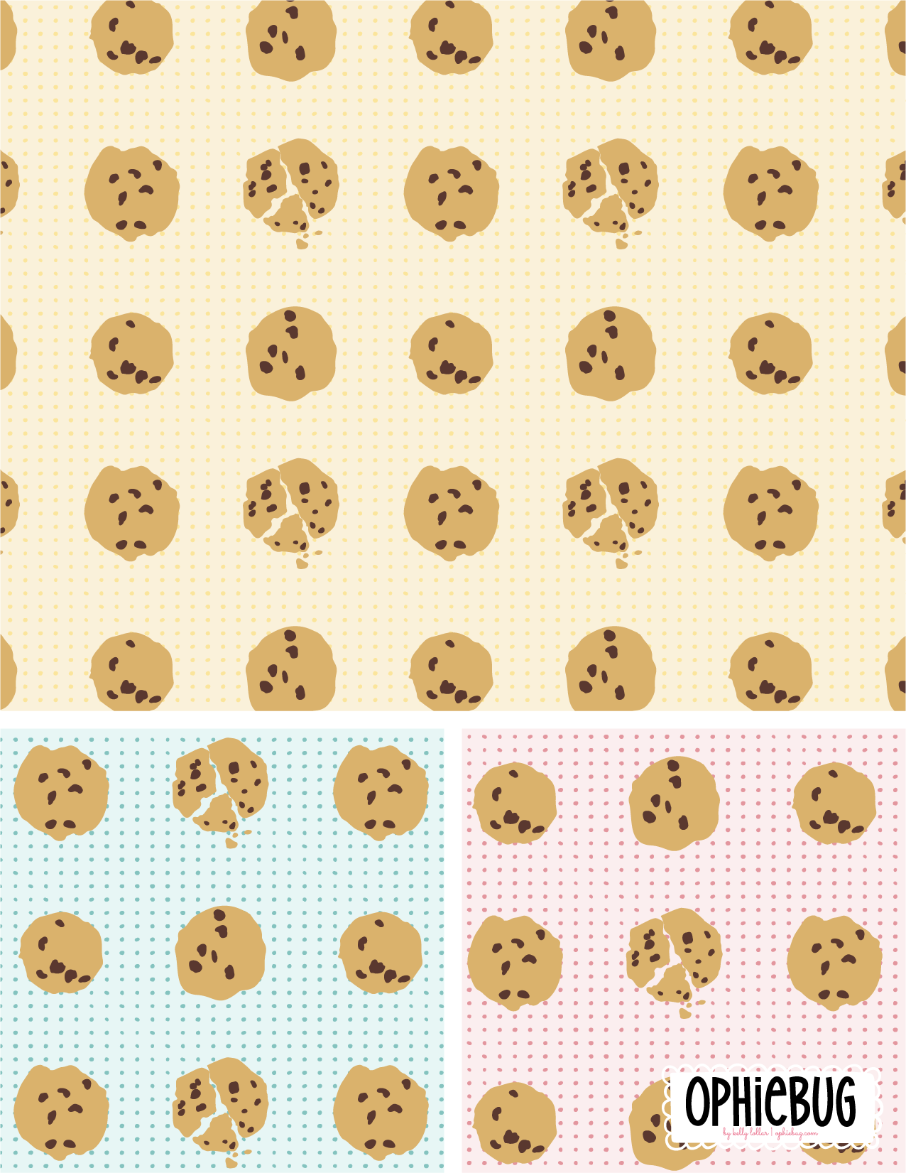 Chocolate Chips Pattern
