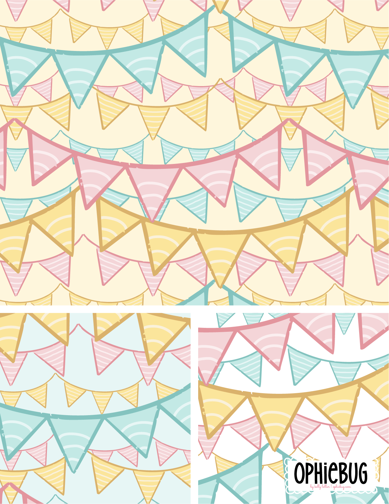 Party Banners Pattern