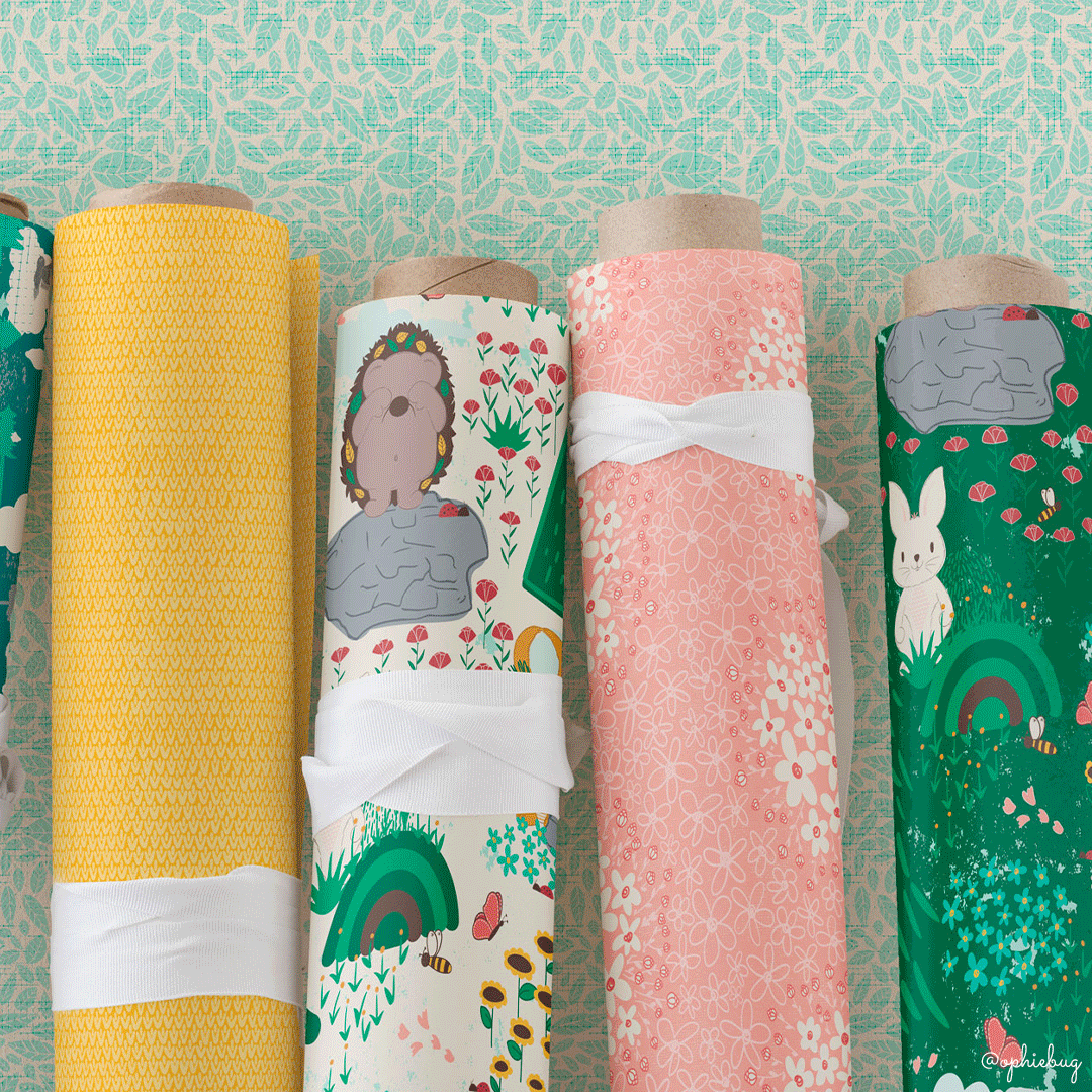 Porcupine and Friends Collection on Wrapping Paper