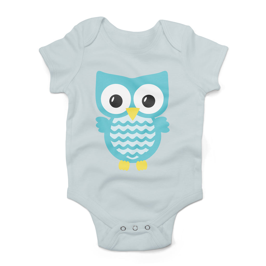 Owl svg on a baby body suit | Kelly Lollar Designs