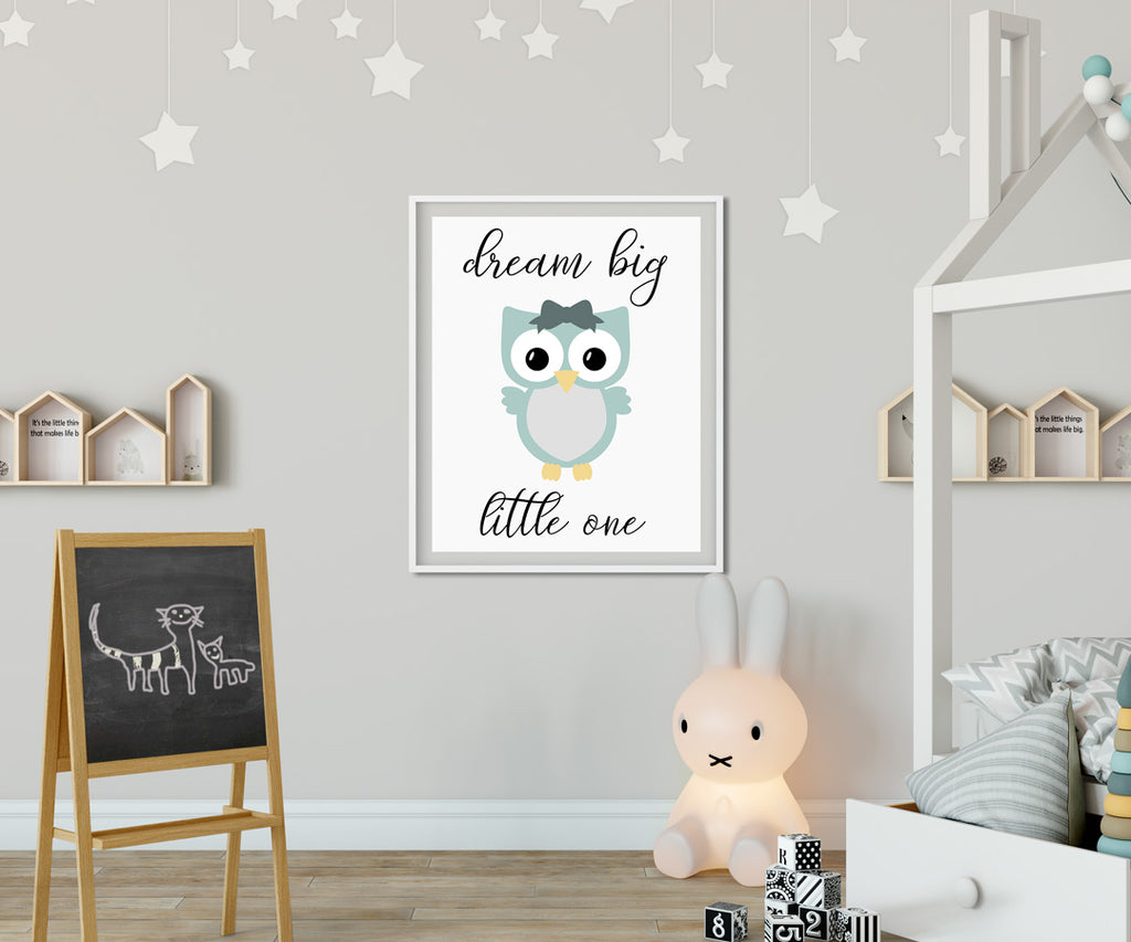 Owl svg used for nursery quote | Kelly Lollar Designs