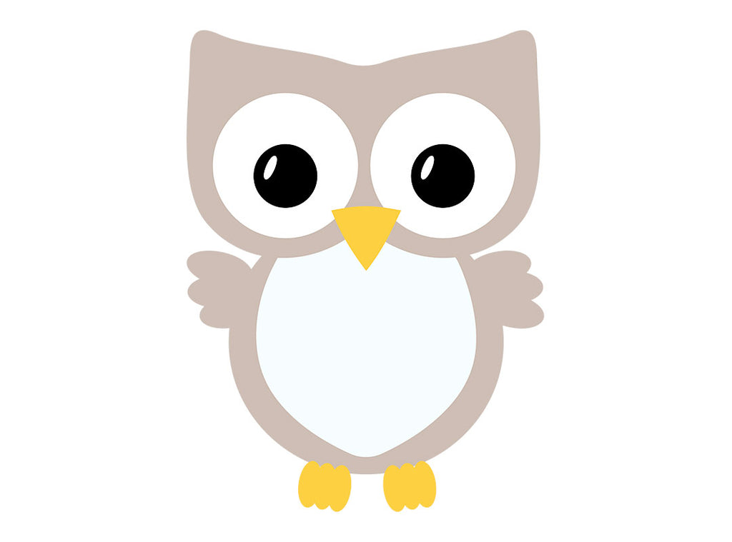 Plain belly Owl svg without bow | Kelly Lollar Designs