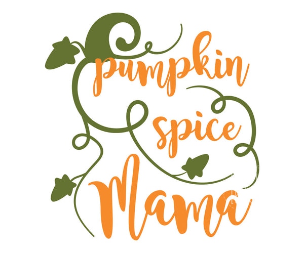 Pumpkin Spice Mama SVG File - Free for Personal Use | Kelly Lollar Designs