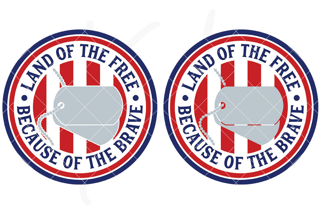 View Land Of The Free Because Of The Brave Svg  Pictures