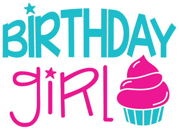 Birthday Girl SVG File - Free for Personal Use | Kelly Lollar Designs