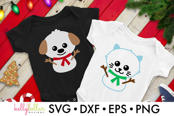 Snow Dog and Cat Cut Files