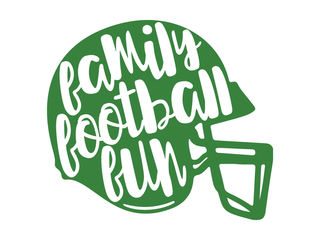 Family Football Fun SVG - Freebie Friday for August 11, 2017