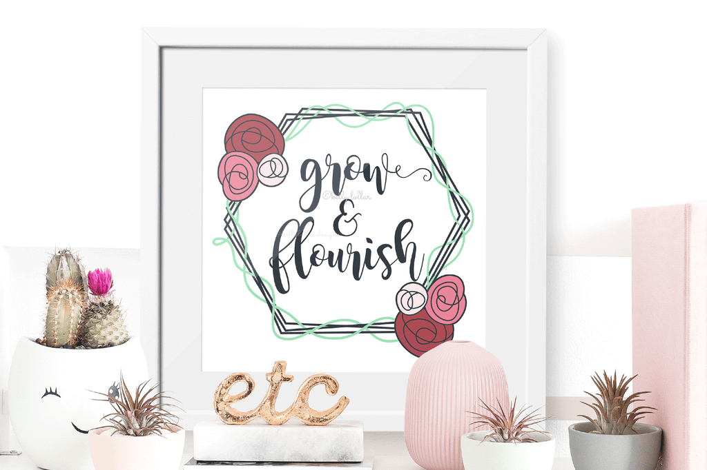 Added quote with the Hexagon Flower Frame SVG DXF EPS PNG Cut Files   Free for Personal Use