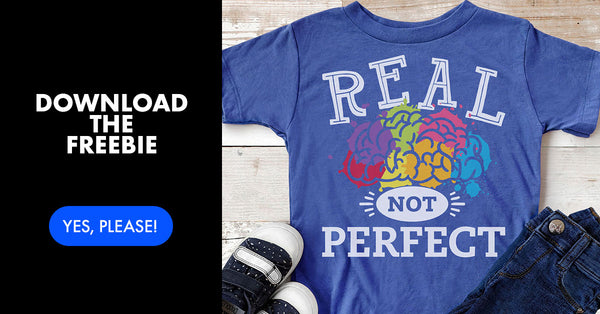 Download the Real Not Perfect Commercial Use Freebie