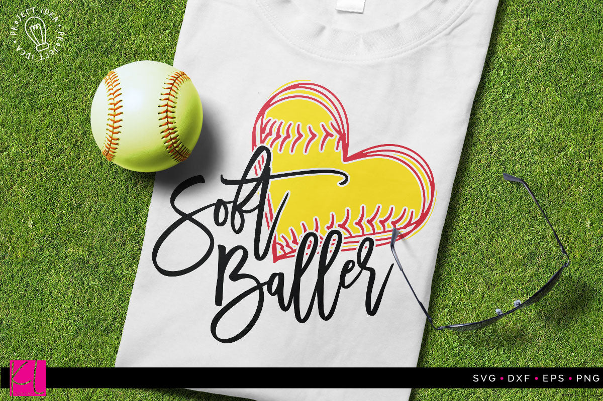 Soft Baller Cut File | SVG DXF EPS PNG