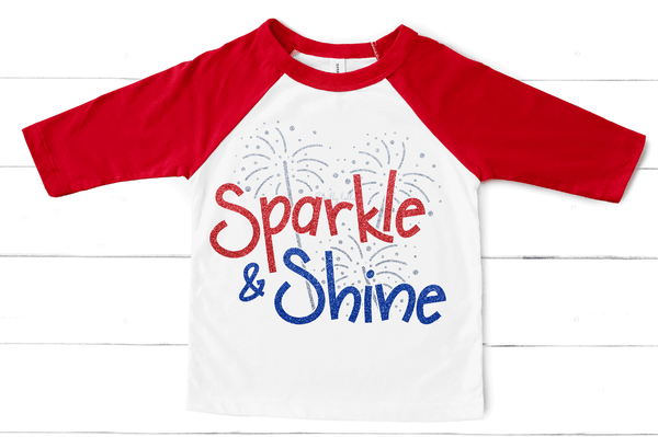 Sparkle and Shine 4th of July SVG DXF EPS PNG Cut Files   Free for Personal Use