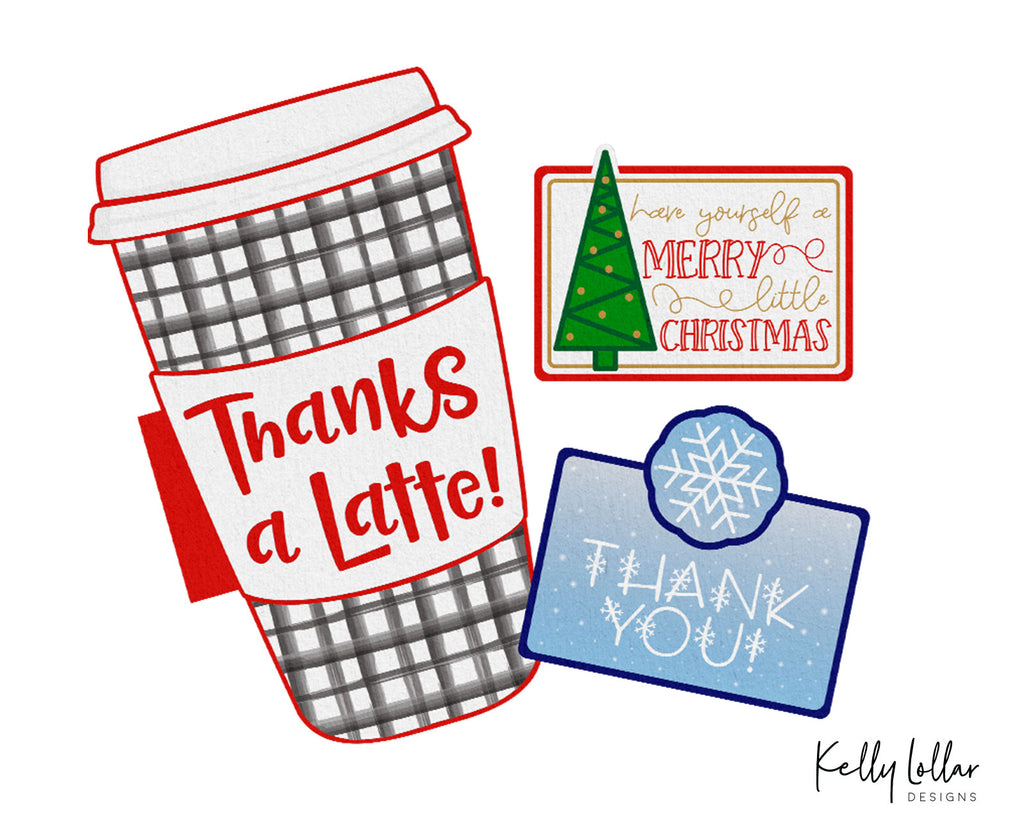 Freebie Friday | Holiday Gift Card Holder Print and Cut Files ...