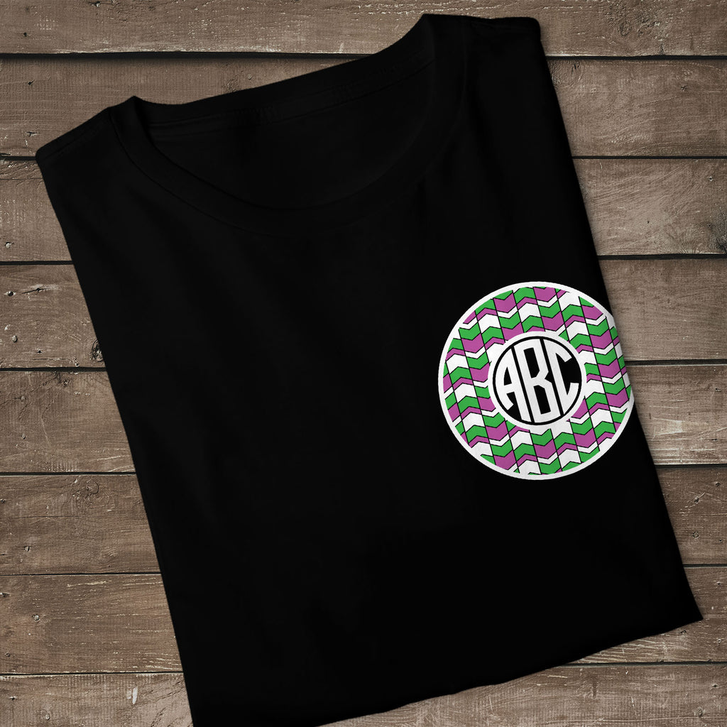 Freebie Friday | Women's Halloween Shirt with the Fall Monogram with Arrow Background | SVG DXF PNG Cut Files