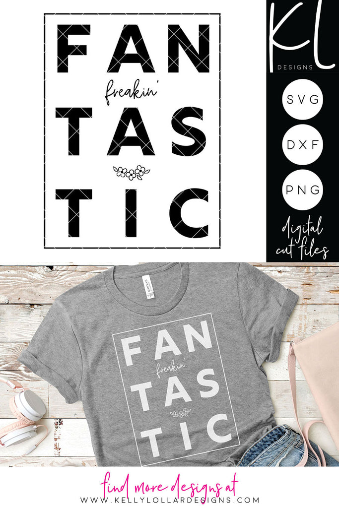 Freebie Friday | FanFreakinFastic svg cut file for women's shirts and accessories