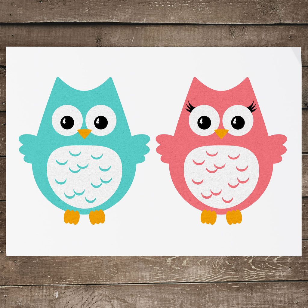 Freebie Friday | Pilgrim Owl svg files without the hats | SVG DXF PNG Cut Files