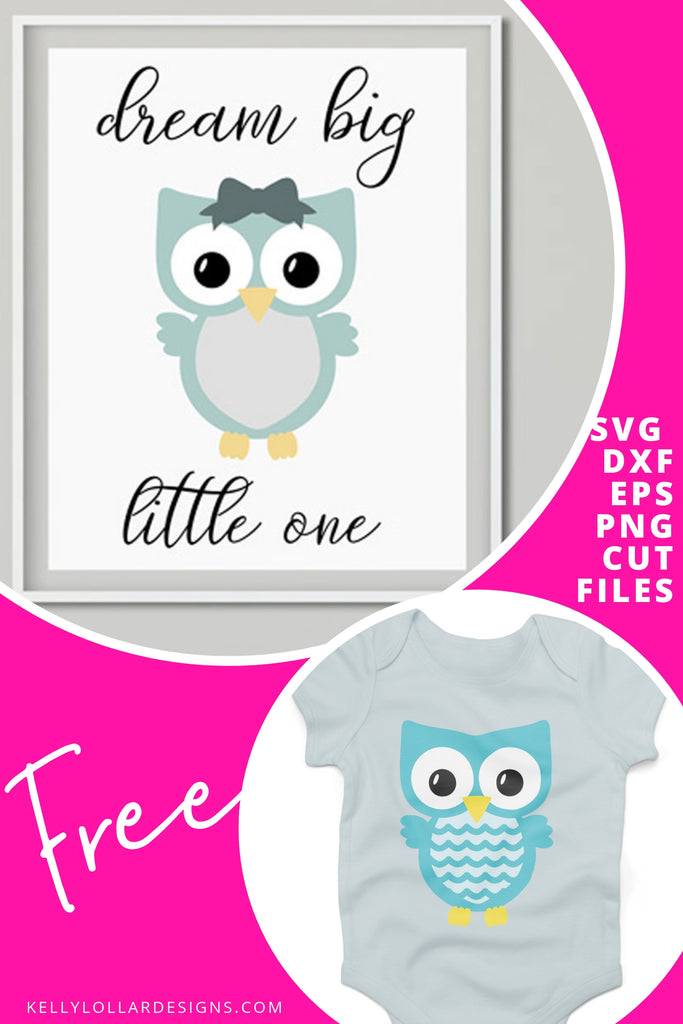 Cute Owl Free Svg Files Kelly Lollar Designs