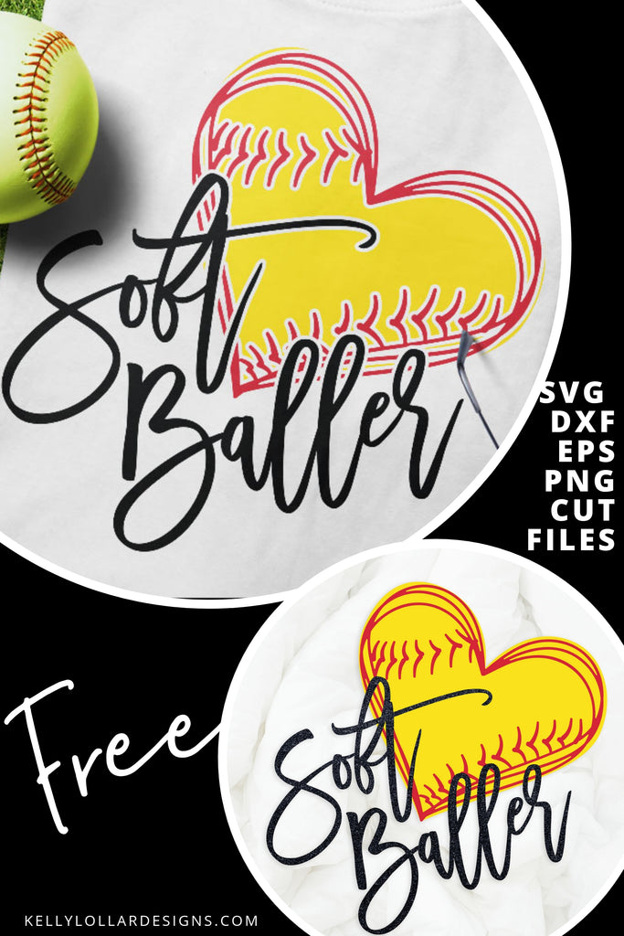 Soft Baller SVG DXF EPS PNG Cut Files | Free for Personal Use