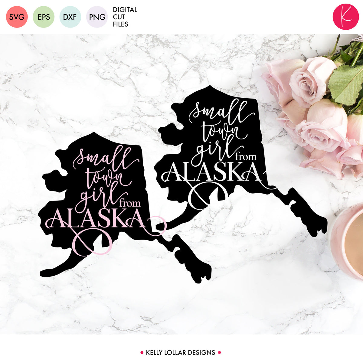 Alaska State Bundle | SVG DXF EPS PNG Cut Files