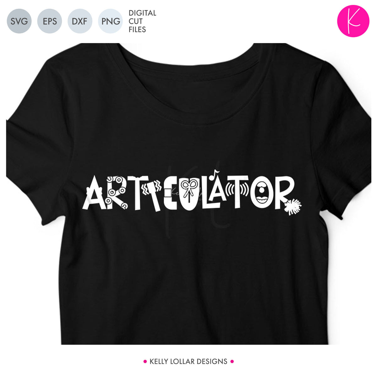 Articulator | SVG DXF EPS PNG Cut Files