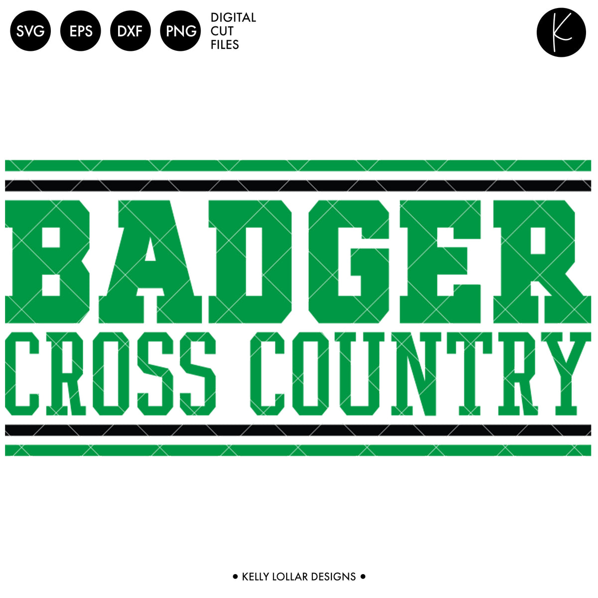 Badgers Cross Country Bundle | SVG DXF EPS PNG Cut Files