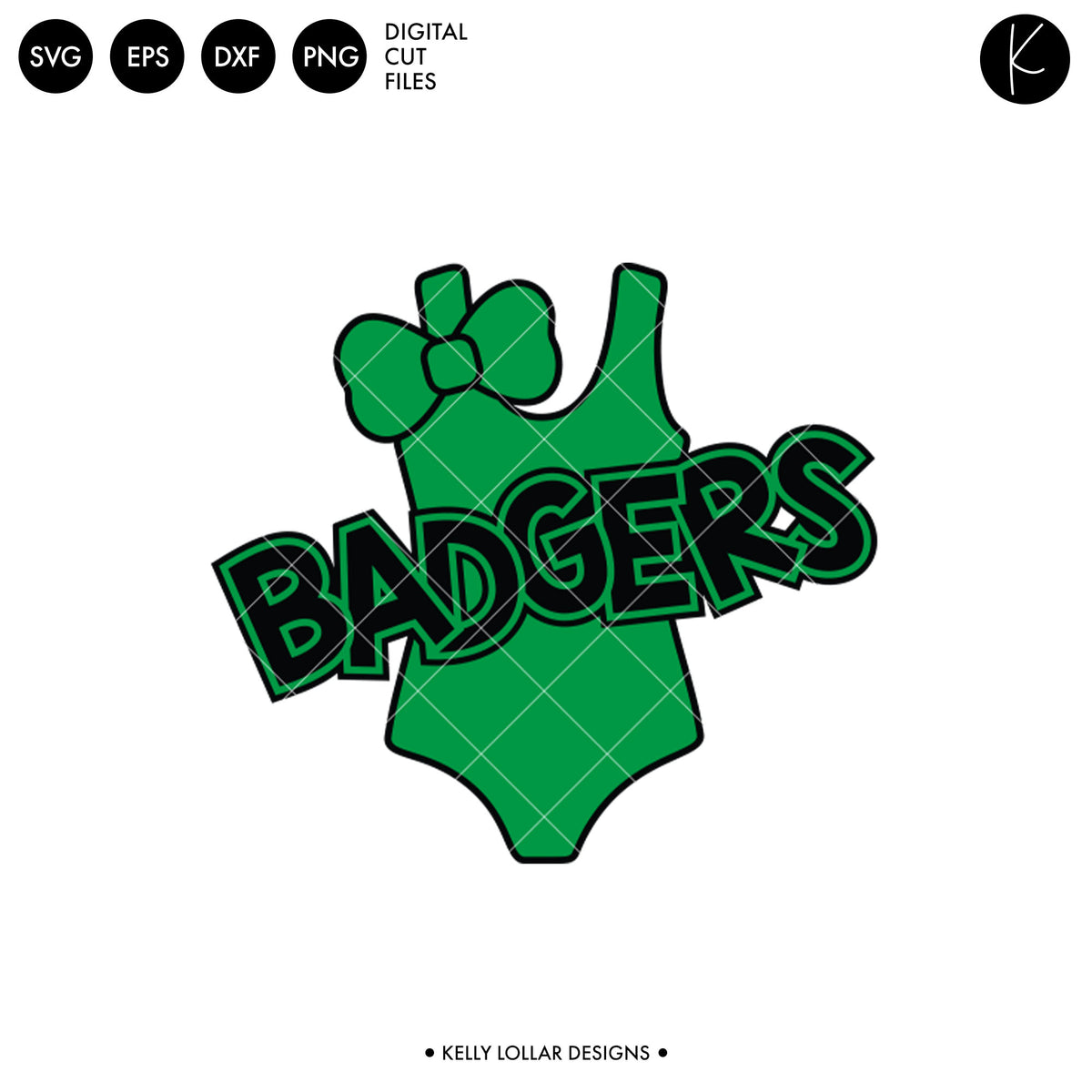 Badgers Swim Bundle | SVG DXF EPS PNG Cut Files
