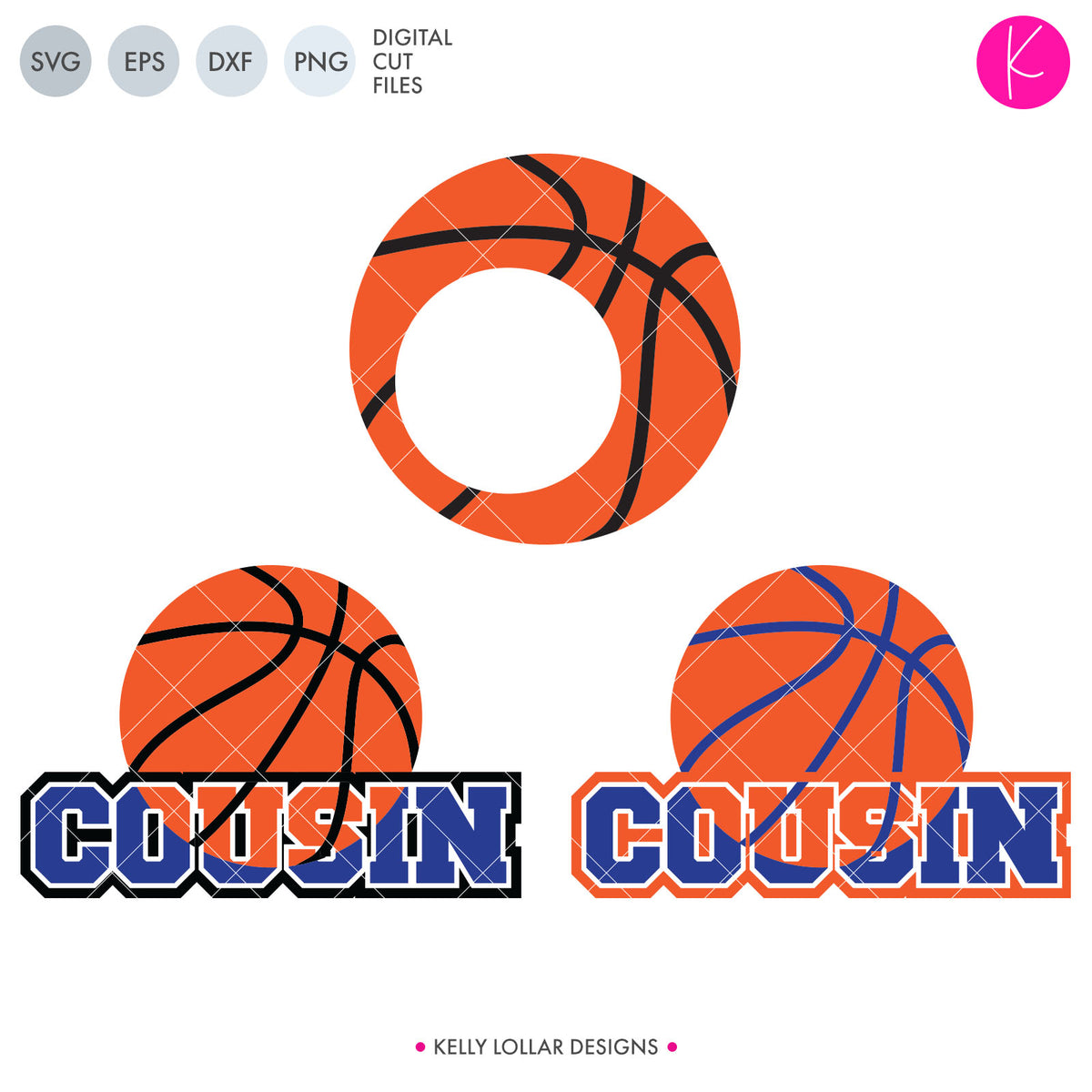 Basketball Family Bundle | SVG DXF EPS PNG Cut Files