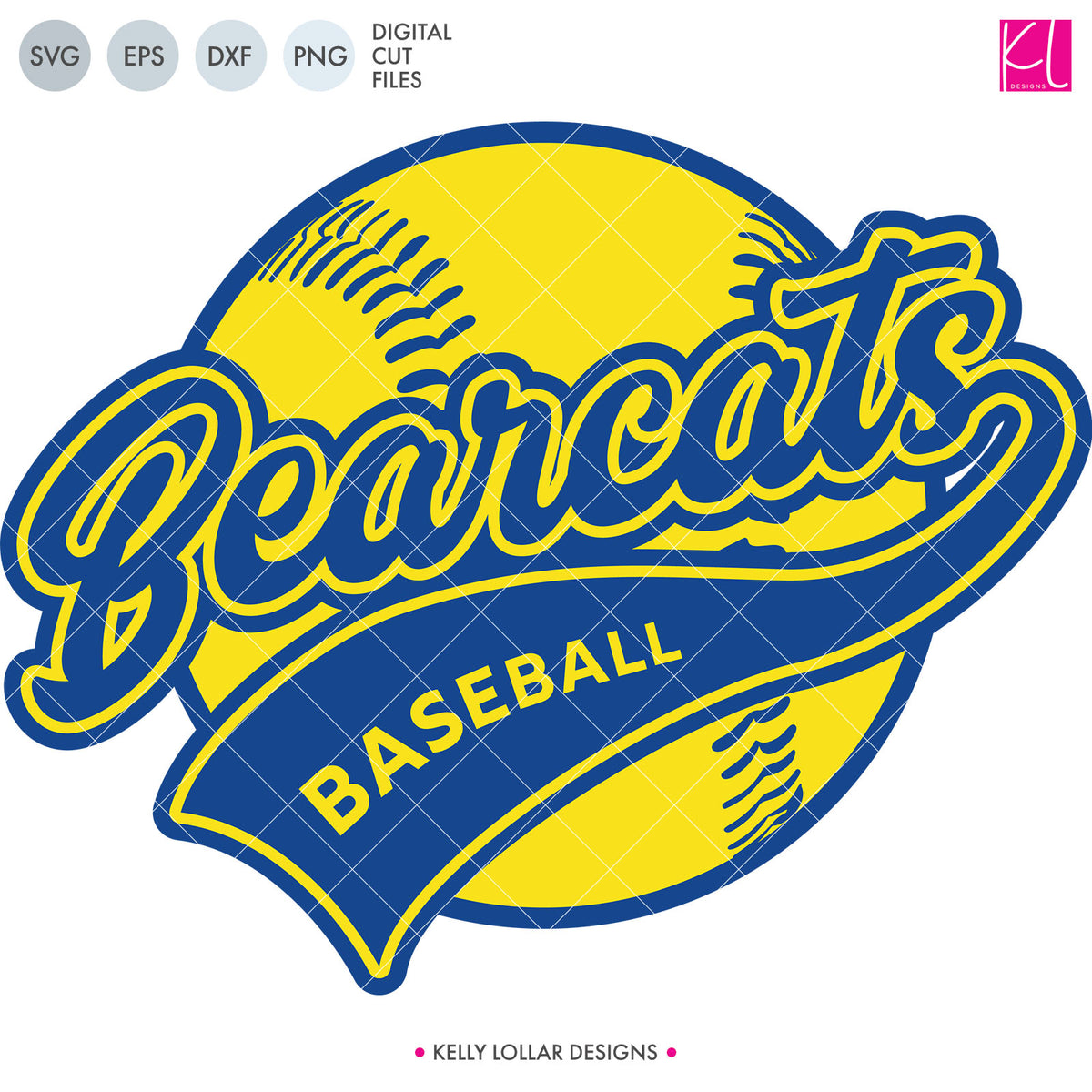 Bearcats Baseball & Softball Bundle | SVG DXF EPS PNG Cut Files