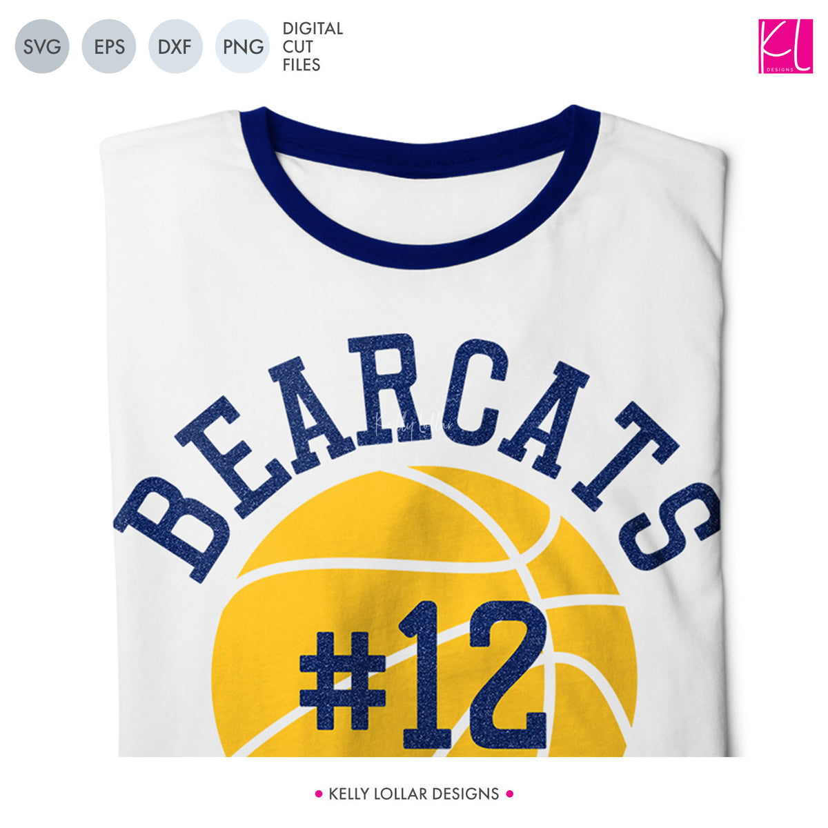 Bearcats Basketball Bundle | SVG DXF EPS PNG Cut Files