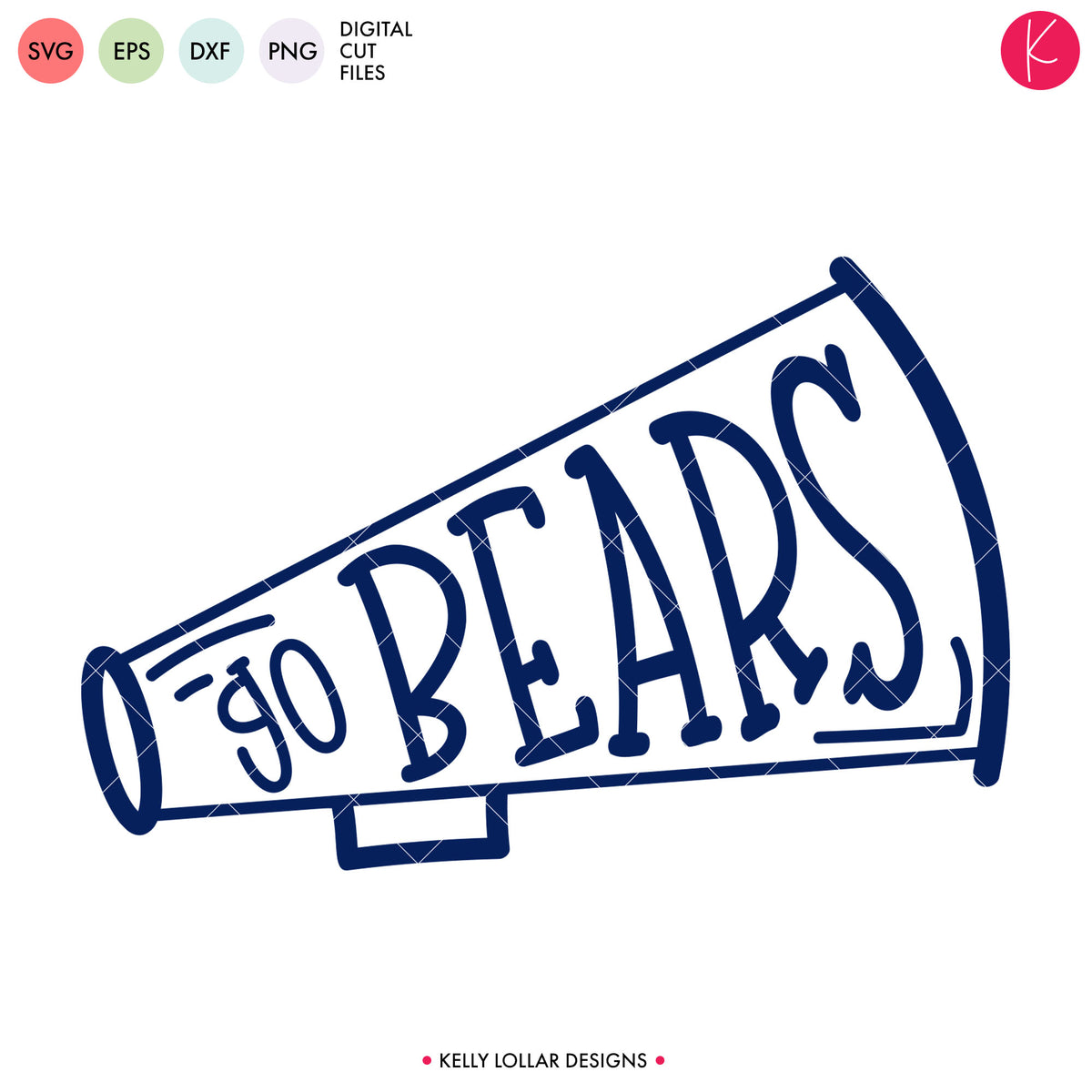 Bears Cheer Bundle | SVG DXF EPS PNG Cut Files