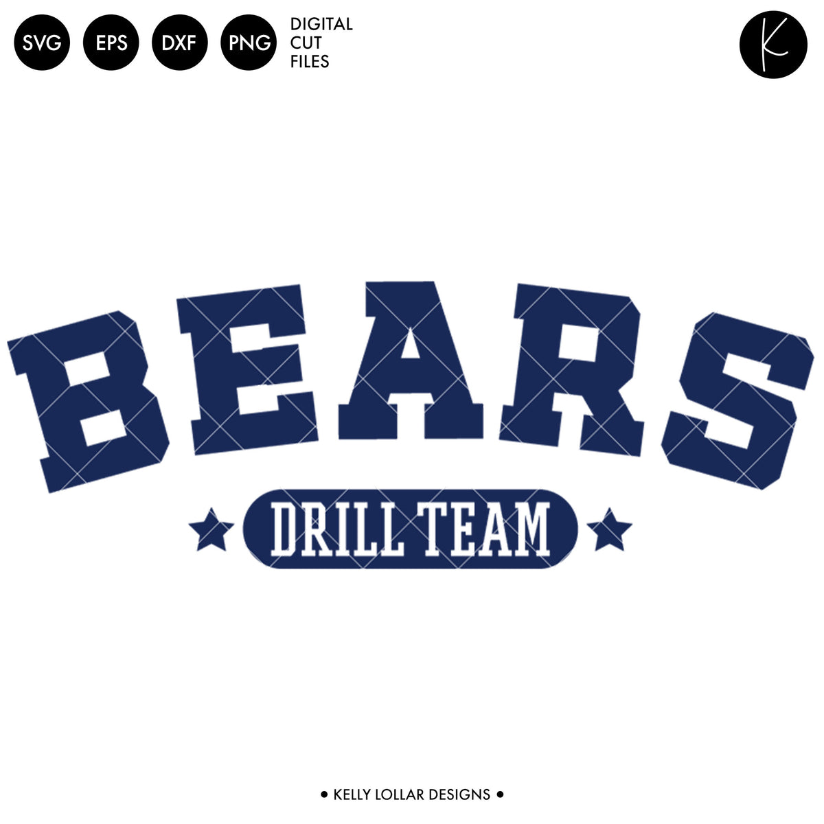 Bears Drill Bundle | SVG DXF EPS PNG Cut Files